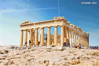 Parthenon Ancient Looked Prime Would Ruins Then