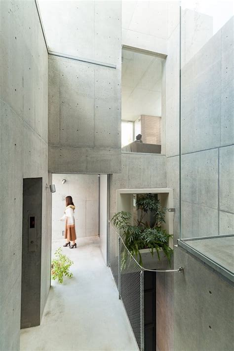 Tree Ness House In Tokio by Dynamic Tree Ness House By Akihisa Hirata In Tokyo