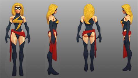 marvel heroes character visual development josh book