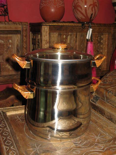 couscous pot  steamer set moroccan couscoussier