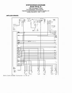 Vw Passat 1995 Wiring Diagram Service Manual Download