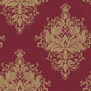 The Wallpaper Company 8 in. x 10 in. Kynzo Damask ...