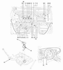 Kia Optima  Components And Components Location