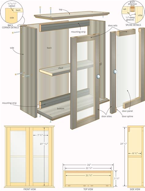 diy kitchen cabinets plans free woodworking plans bathroom cabinets quick