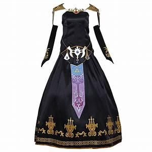 Zelda Black Dress Cosplay The Legend of Zelda Twilight ...