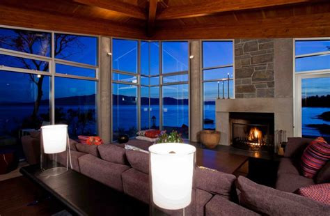 houses with fireplaces pender harbour house in pender harbour bc canada