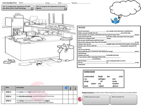 food technology health and safety lesson plan by simmika
