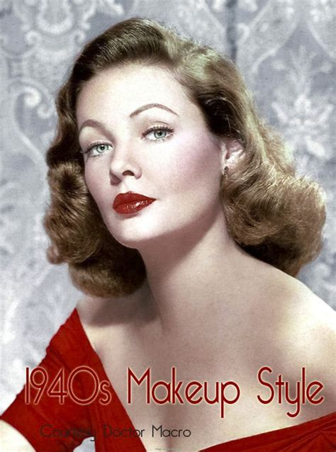 1940s hair and makeup styles 1940s makeup tips tutorial vintage makeup guides 5273