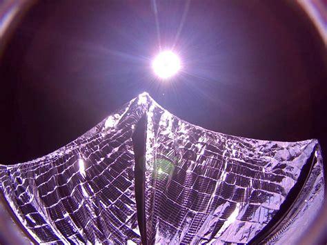 light sail energy solar sailing spacecraft unfurls its sails finally d brief