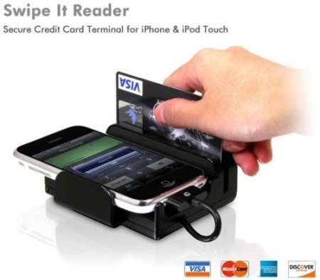credit card reader for phone turn your iphone in a credit card reader with swipe it