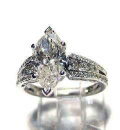 vintage marquise engagement rings items similar to reserved 3 45ct antique vintage marquise cut engagement wedding
