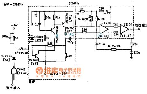 Million Bit Data Circuit Diagram Power Supply