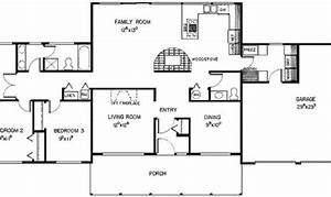 20 Simple Three Bedroom Ranch Floor Plans Ideas Photo