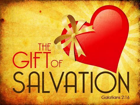 gift  salvation powerpoint sermon