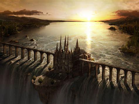 wallpaper  castle