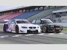 BMW M3 DTM E30 vs BMW M3 DTM E92 YouTube