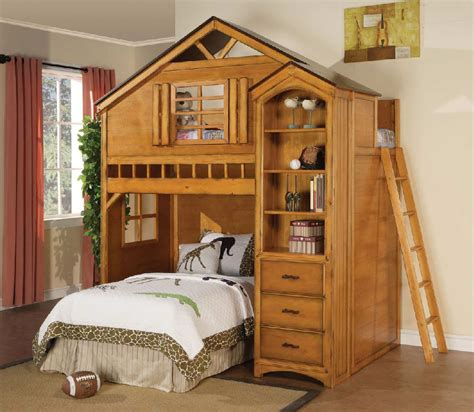 tree house bed treehouse loft bed kids furniture in los angeles