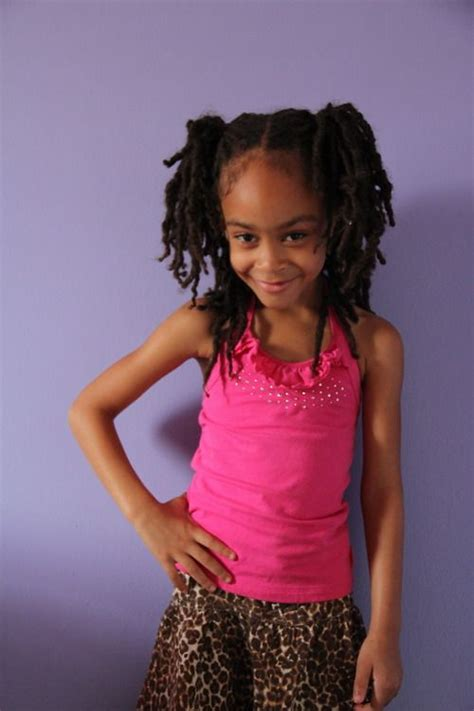 dread head 6 year old little locsters natural