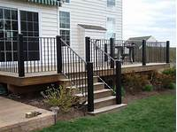 interesting patio railing design ideas Stair Railing Ideas to Improve Home Design