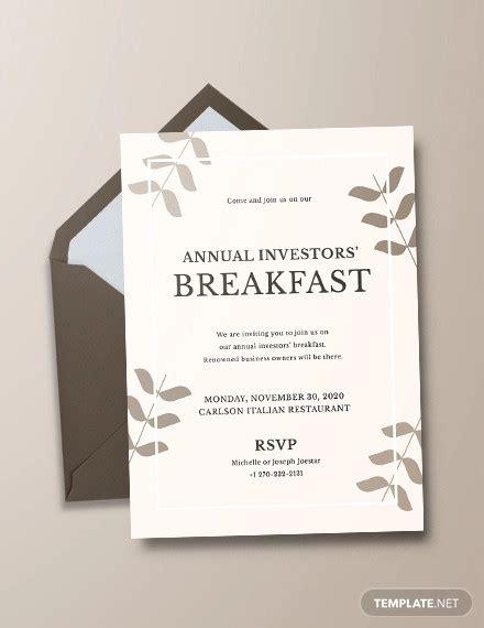 breakfast invitation designs psd ai word