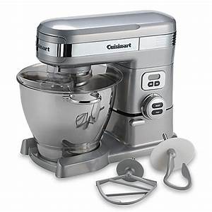 Cuisinart® 5 5-Quart Stand Mixer in Brushed Chrome - www