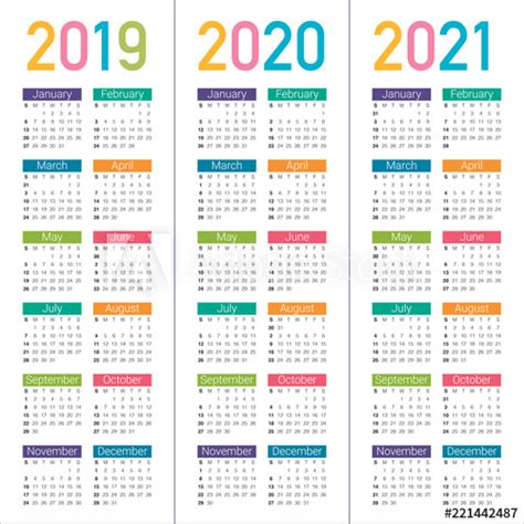 year calendar vector design template buy stock
