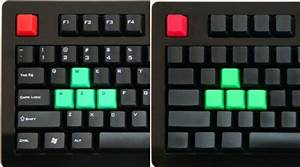 Das keyboard mechanical keyboard gets colored keys tops for Mechanical keyboard no letters