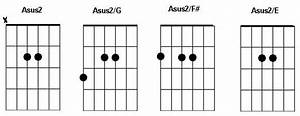 sus slash chords in the style of oasis guitar control With guitar control