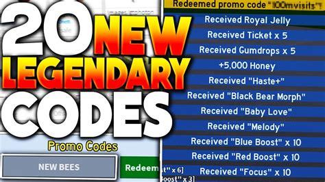 (new) 20 Legendary Roblox Bee Swarm Simulator Codes *new