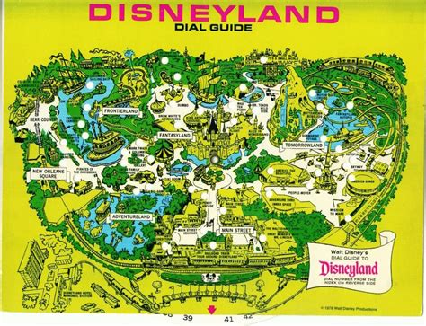 disneylands evolution  maps design architecture