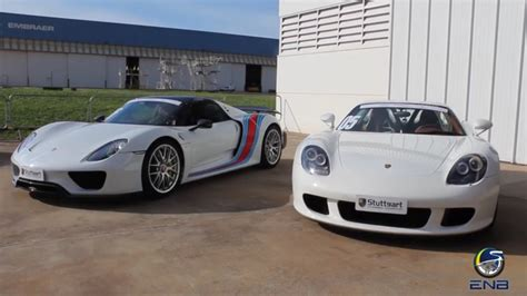 speed chions porsche 918 spyder porsche carrera gt vs porsche 918 spyder video news