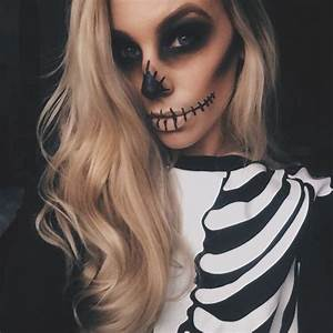 50 Halloween Makeup Ideas You'll Love | Pretty halloween ...