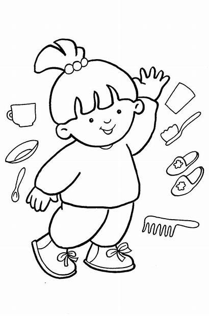 Coloring Parts Preschool Desene Copii Colorat Carti