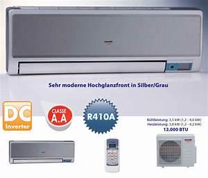 Klima Split Anlage : 12000 btu inverter 3500w 3 5 kw a a split klima anlage klimaanlage und heizung ebay ~ Orissabook.com Haus und Dekorationen