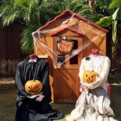 scary red outdoor halloween decorations the latest home