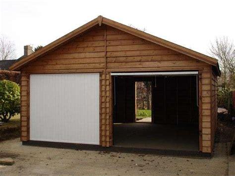 Construcción De Garajes De Madera Prefabricados, Precio Fijo