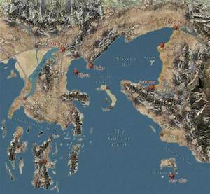 Map of Essos and Valyria & Asshai | GOT | Pinterest | Maps ...