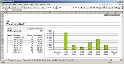 ergebnisse auswerten daten exportieren exavo homepage