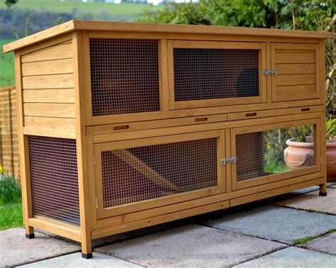 6ft rabbit hutches show all products the coach house 6ft large rabbit hutch