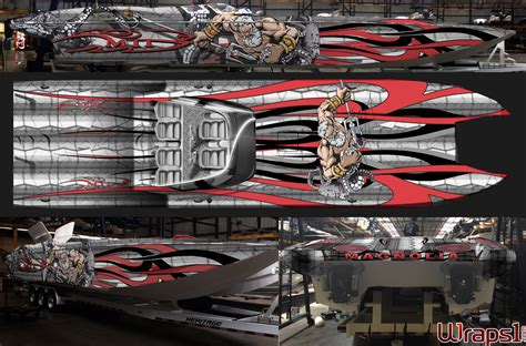 Boat Graphics by Custom Graphics Vinyl Wraps Boat Wraps Florida