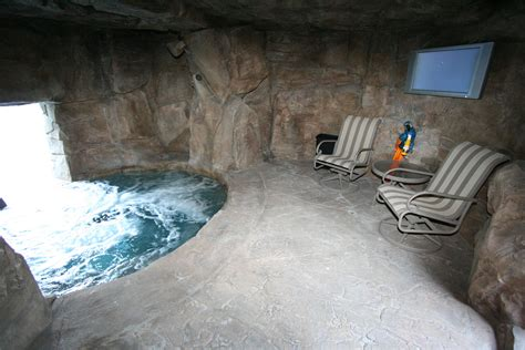 Cave Backyard - 55 most awesome swimming pool designs on the planet