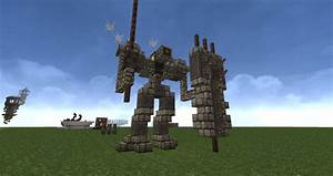 The Stone Golem Minecraft Project
