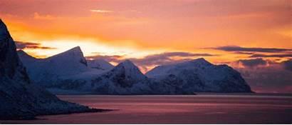 Norway Seasons Rustad Morten Gifs Flyngdream Sunset