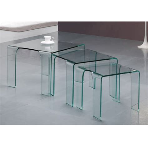 table gigogne en verre tank