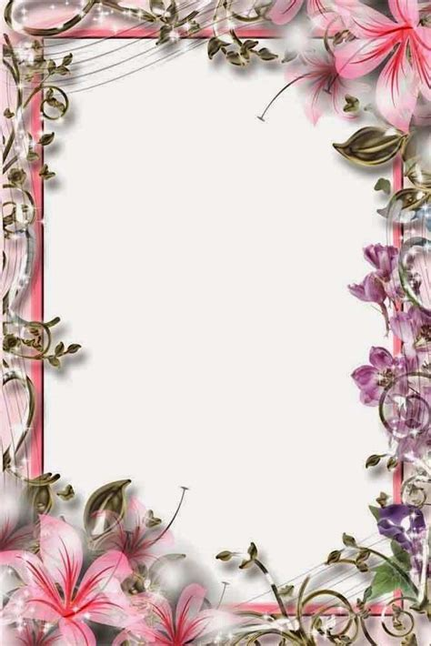 gambar bingkai bunga frameml blog teraktual