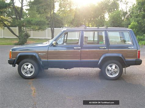 1989 jeep wagoneer interior 1989 jeep wagoneer limited sport utility 4 door 4 0l 4x4
