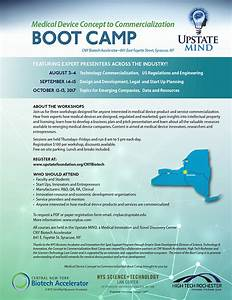 Medical Device Concept to Commercialization Boot Camp ...