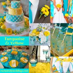 colors for wedding turquoise wedding color seven combinations exclusively weddings wedding ideas
