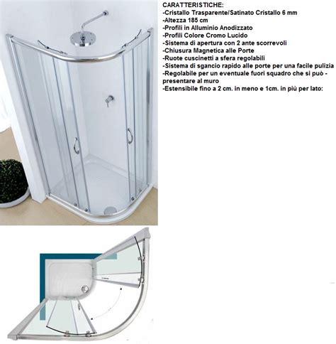Piatto Doccia 90x70 by Box Doccia Semicircolare 90x70