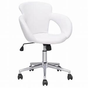 Schreibtischstuhl Weiß Ikea : rollhocker drehstuhl arbeitshocker wei mit lehne ~ Buech-reservation.com Haus und Dekorationen